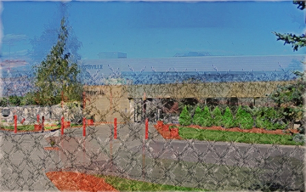 jpeg, prison, added barbed wire fence texture
