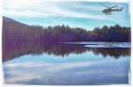 Echo Lake, Woodstock, NY, helicopter